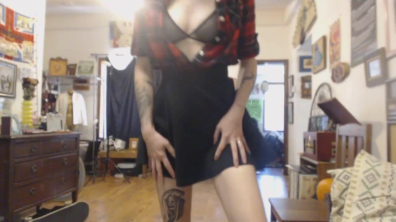Alt Porn Videos lexi doll face alt strip tease 2018_03_01   manyvids free