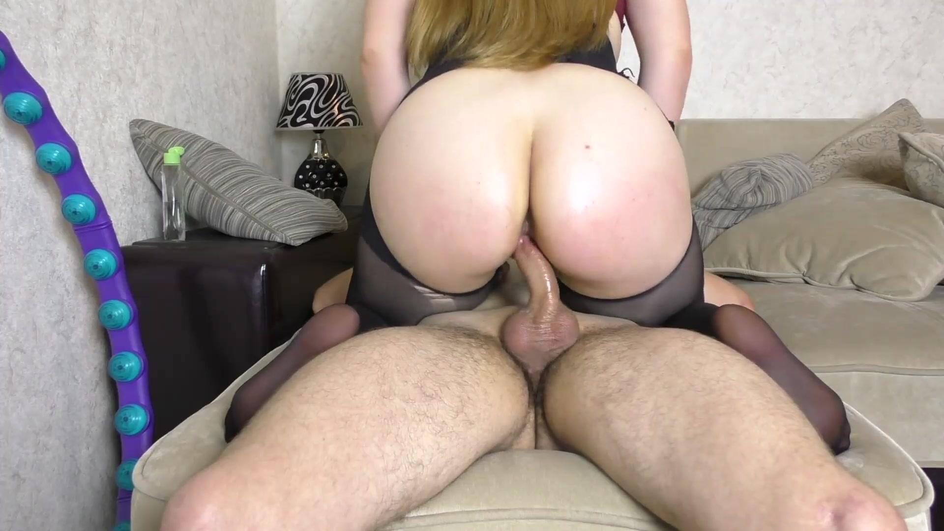 big ass riding dildo slow